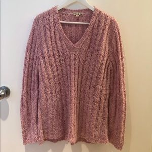 Women's pink sweater